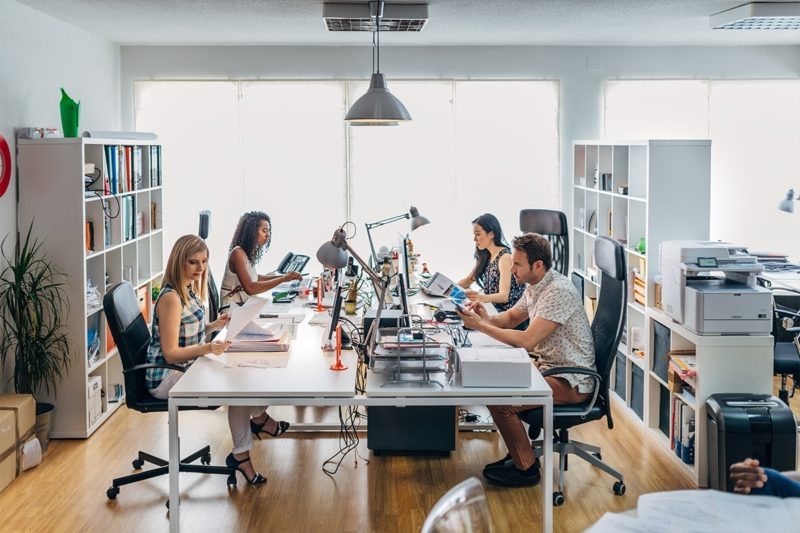 5 Reasons Why a Co-working Space Would be Ideal for your Startup-min